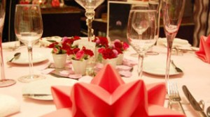 結婚式テーブルセット