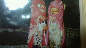 和装で結婚式に参加