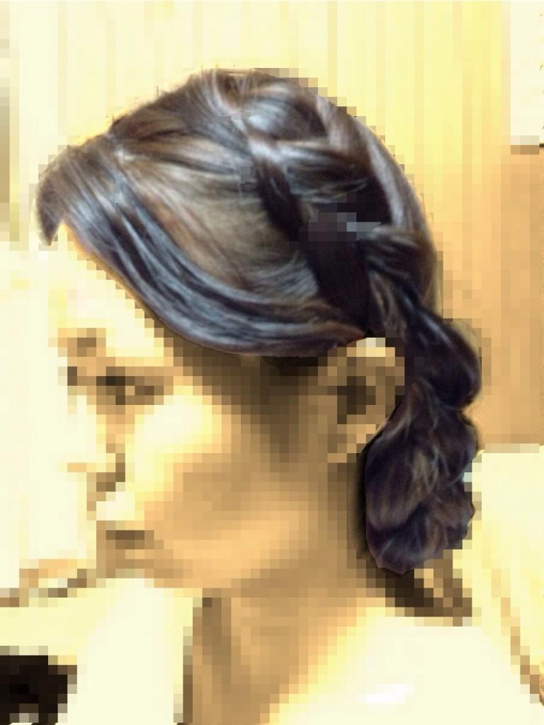 結婚式の髪型