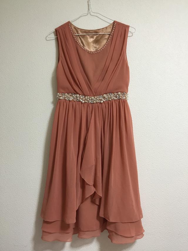 cariruオレンジドレス